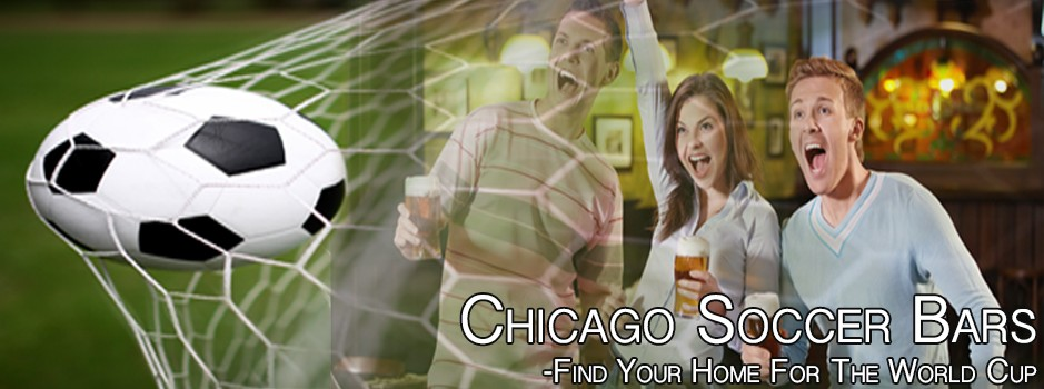 Chicago Soccer Bars Friends Cheering
