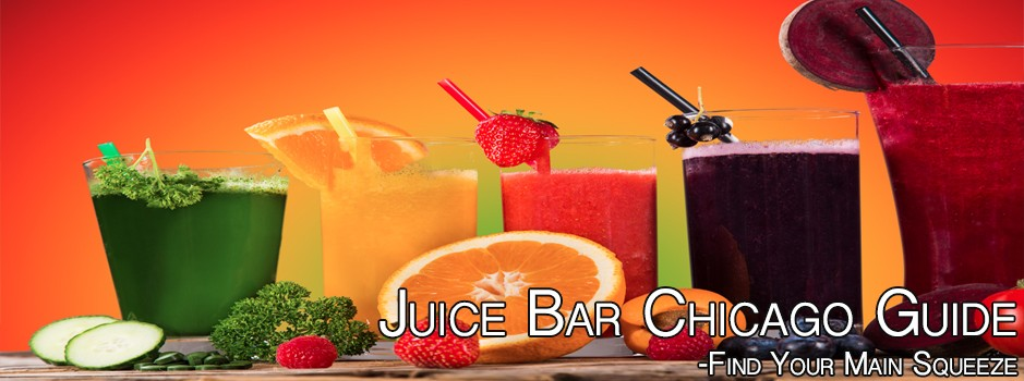 Juice Bar Chicago smoothies orange fruit strawberries