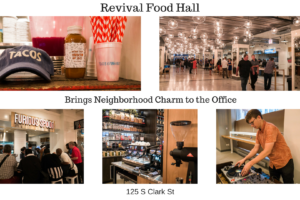 Revival Food Hall Brings Neighborhood Charm to the Office