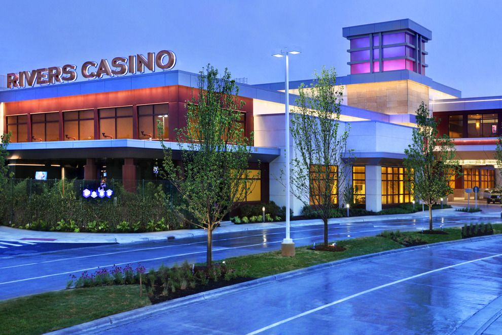 Image result for 10 casinos in Illinois.