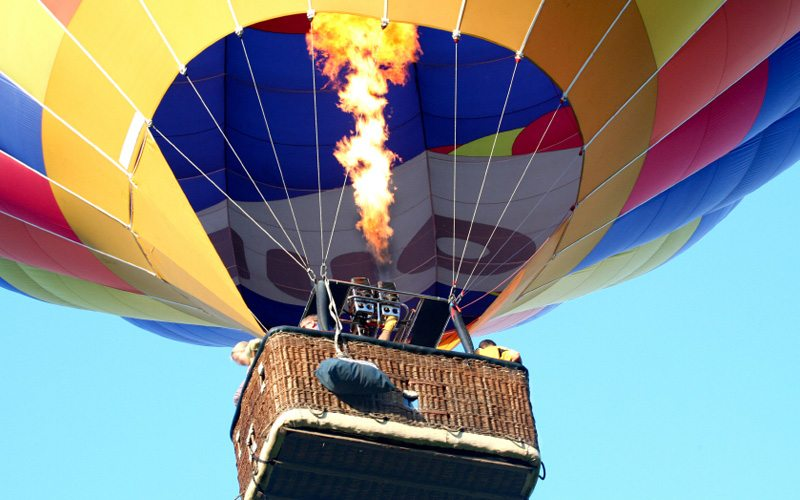 Aerial Sightseeing Chicago – Hot Air Balloons & Helicopter Tours