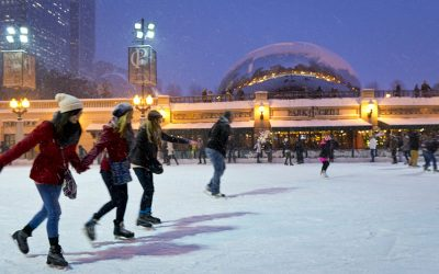 Chicago Winter Activities – Skating, Skiing, Touring